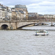 Stock Photo: River Seine in Paris, France