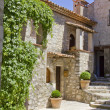Mediterranean house in an old village — Stock Photo