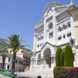 The Saint Nicholas Cathedral in Monaco — Stock Photo