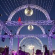 Stock Photo: Christmas decoration and ferries wheel in Nice