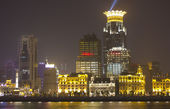 Shanghai Pudong, modern area of the city — Stock Photo