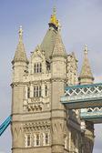 Dettaglio del tower bridge, londra, inghilterra — Foto Stock