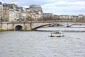 パリ、フランスのセーヌ川 — ストック写真