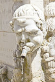Detail from a water fountain in Provence — Foto Stock