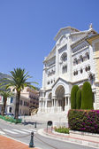 The Saint Nicholas Cathedral in Monaco — 图库照片