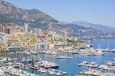Aerial view of Monaco — Stock Photo