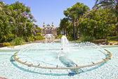 Monte Carlo gardens — Stock Photo
