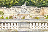 Park Jardin de la Fontaine in Nimes — Stock Photo