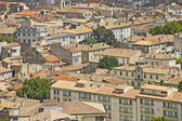 Aerial view of the city Nimes, France — Stock Photo