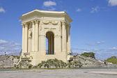 Arc de Triomphe, in Peyrou Garden, Montpellier — Stock Photo