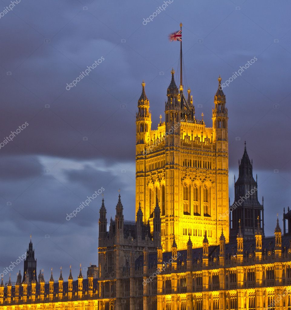 House of Parliament, London  Stock Photo #9388126