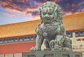 The Palace Museum, Forbidden City — Stock Photo