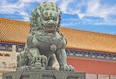 дворец музей, запретный город, китай — Стоковое фото