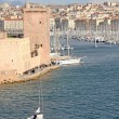 Famous old port of Marseilles, France — Stock Photo #9864827