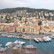 Nice harbor, France — Stock Photo