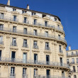 Building in the old port of Marseilles, France — Stock Photo #9865331