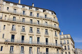Building in the old port of Marseilles, France — Stock Photo