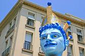 El carnaval de Niza — Foto de Stock