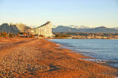 Beach in Antibes, France — Stock Photo