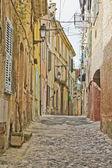 Ulica w provence, francja — Zdjęcie stockowe
