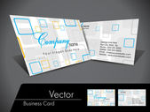 Vector Business Card,For more bsiness card of this type please v — Stock Vector