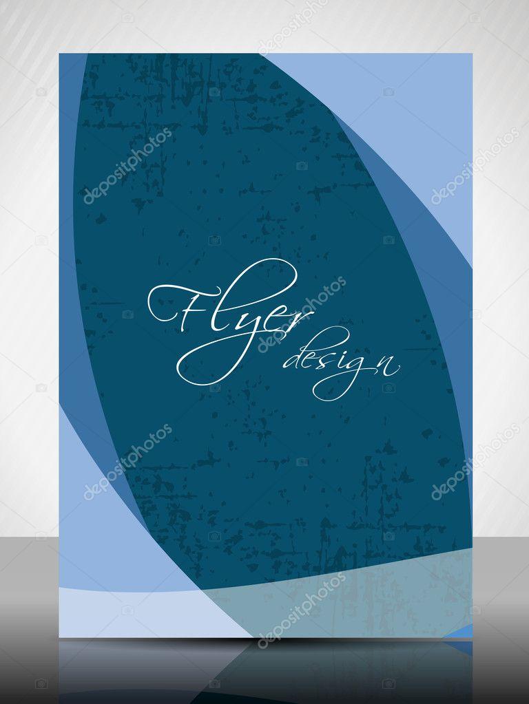 EPS 10 Professional Corporate Flyer Design Presentation editabl – Professional Corporate Flyer