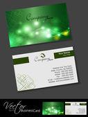 профессиональные визитные карточки, шаблон или набор визитная карточка. — Cтоковый вектор