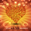 Abstract love background. — 图库矢量图片 #10564430