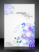 Professional business flyer template or corporate banner design. — Stock Vector