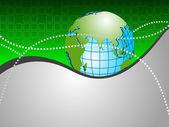 Professional corporate eller business mall för finansiella presen — Stockvektor