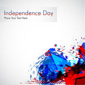 Abstract grungy background for 4 th of July. — 图库矢量图片