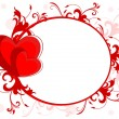 Royalty-Free Stock Vector Image: Abstract love frame for valentines day and other occasion. Vecto