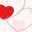 Love background with beautiful heart.Vector Illustration. — 图库矢量图片