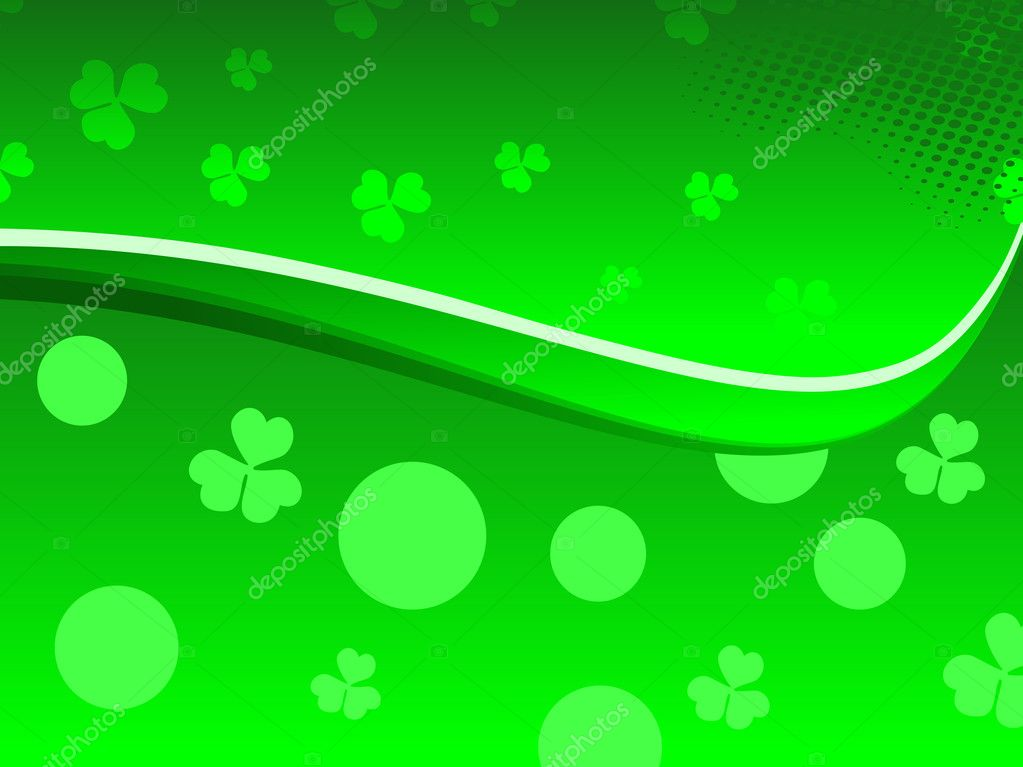 abstract st patrick theme - photo #46