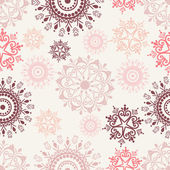 Floral Seamless Pattern. — Stockvector