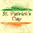 Rubber stamp with the text of St. Patrick's Day. vector. — Stock Vector