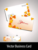 Business card set. Vector. — Stock Vector