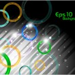 Abstract background with shiny ellipse. eps 10. — 图库矢量图片