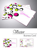 Business card set. Vector.For more similar business card, please — Stock Vector