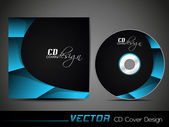 CD Cover design. — Stock Vector