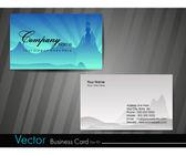 Professionele visitekaartje set. — Stockvector
