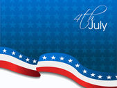 4th of July independence day background. — Vettoriale Stock