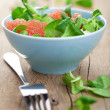 Fresh salad with grapefruit - Foto Stock