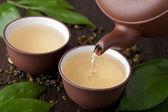 Groene thee — Stockfoto
