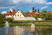Visby city at Gotland, Sweden — Stock Photo