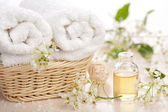 Spa and aromatherapy set — Stock Photo