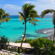 Perfect tropical sea landscape. island Isla Mujeres (Women Islan — Stockfoto #8495381