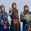 Medieval knights — Stock Photo #10204857