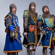 Medieval knights — Stock Photo #10204863