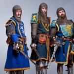 Caballeros medievales — Foto de Stock
